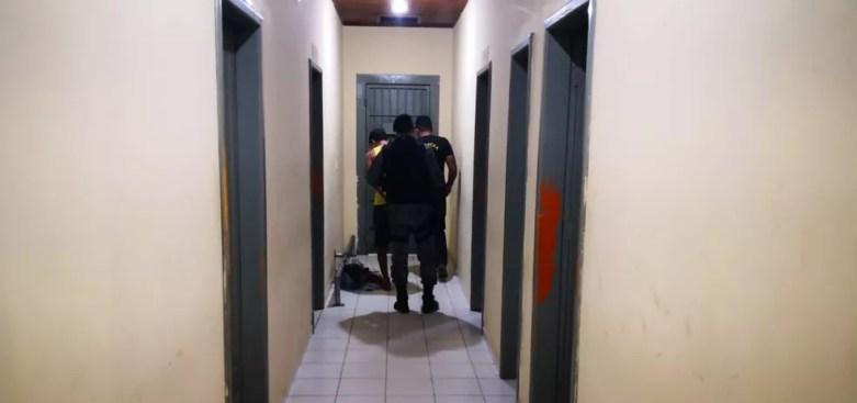 Homem foi preso após namorada denunciar agressão e PM encontrou criança em casa usada para embalar drogas (Foto: Alexandre Lima/Arquivo Pessoal)