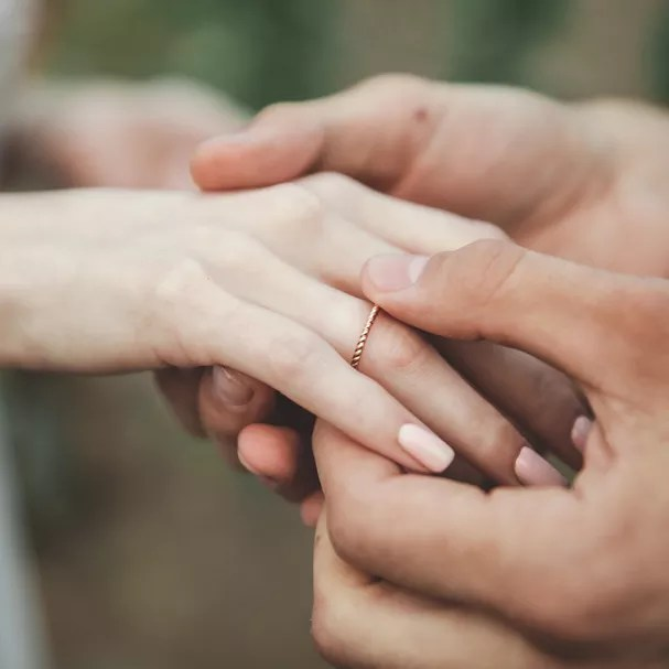 Nova pede anulação do casamento em três minutos (Foto: Getty Images)