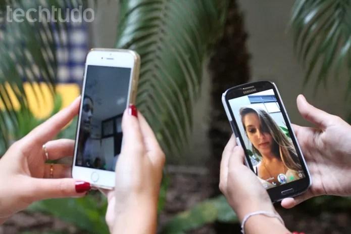 snap (Foto: Luana Marfim/TechTudo)