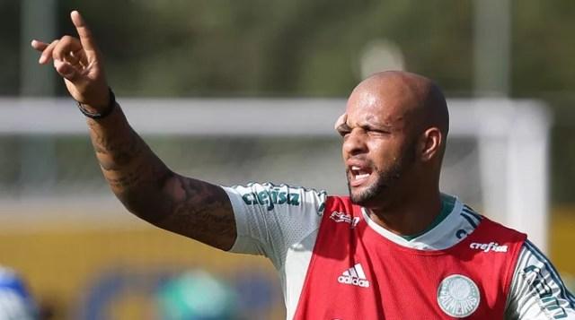 Felipe Melo Palmeiras (Foto: Cesar Greco/Ag Palmeiras/Divulgação)