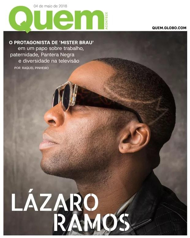 Lázaro Ramos (Foto: QUEM)