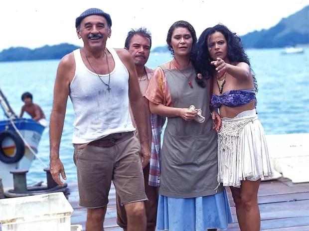 A história se passa na fictícia Pontal D'Areia, cidade do litoral fluminense (Foto: CEDOC/ TV Globo)