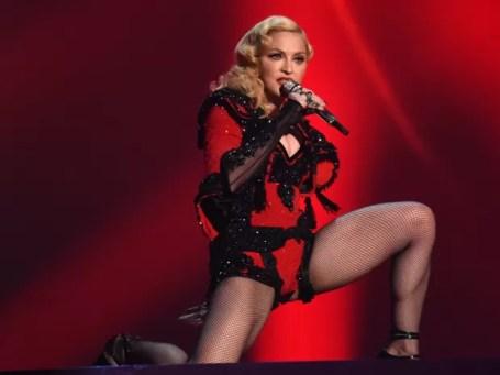 Madonna no Grammy (Foto: John Shearer/AP)