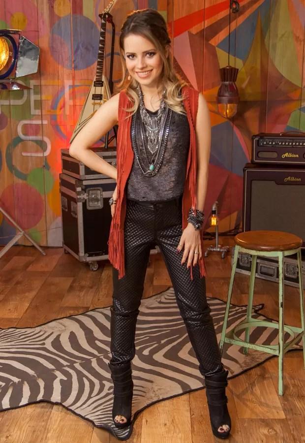 Sandy Look Audição 4 (Foto: Isabella Pinheiro / Gshow)