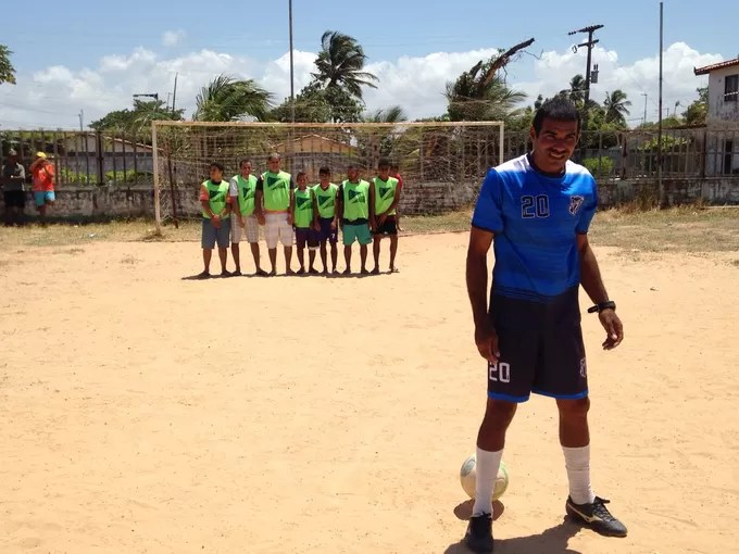 Neno Calcanhar, Esporte Espetacular (Foto: Gustavo Serra / Esporte Espetacular)
