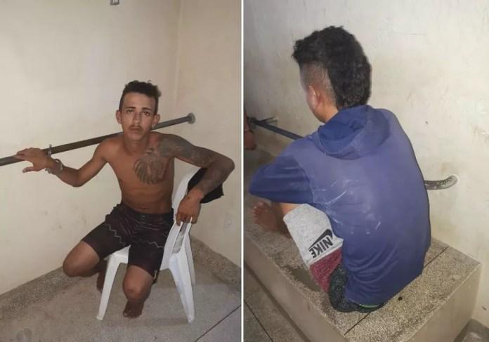 Suspeitos confessaram o crime e disseram que jovem foi morto por engano (Foto: Adelcimar Carvalho/G1)