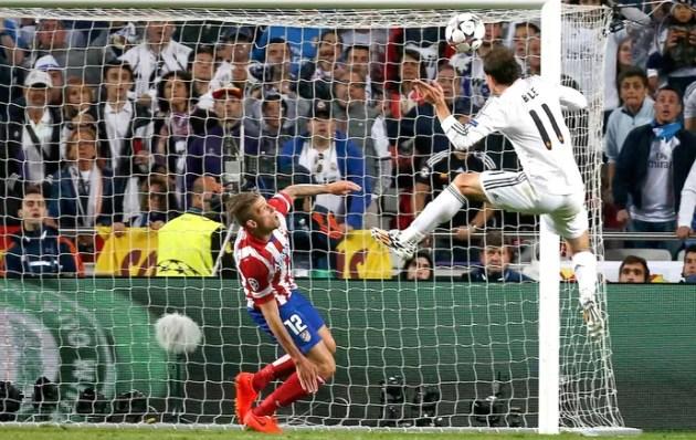 Bale Real Madrid e Atlético de Madrid (Foto: Agência Reuters)