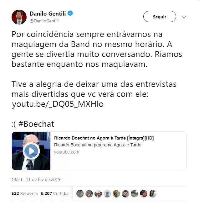 Danilo Gentili (Foto: Reprodução)