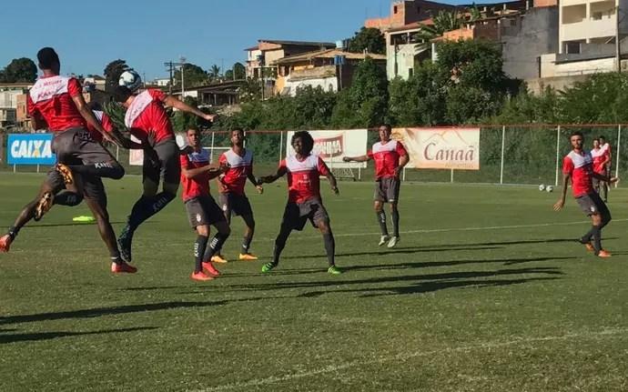 Sergipe, treino, CT do Bahia (Foto: Felipe Martins / CSS)