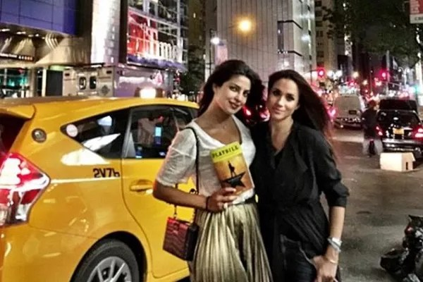 Meghan Markle and Priyanka Chopra on a tour of New York before the start of the actress's relationship with Prince Harry (Photo: Instagram)