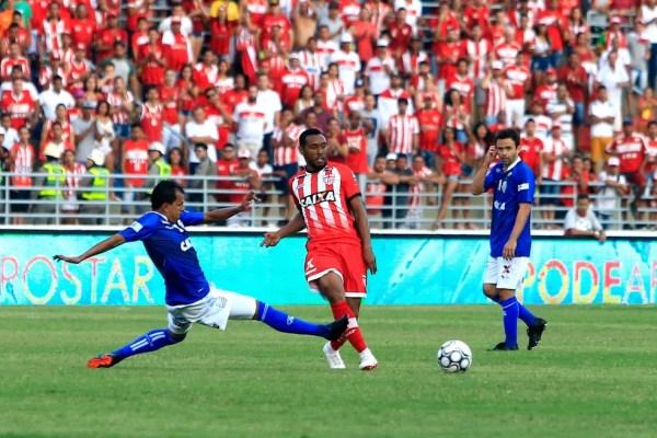 CRB e CSA tiveram dois empates por 0 a 0, na Série B de 2018 — Foto: Ailton Cruz - Gazeta de Alagoas