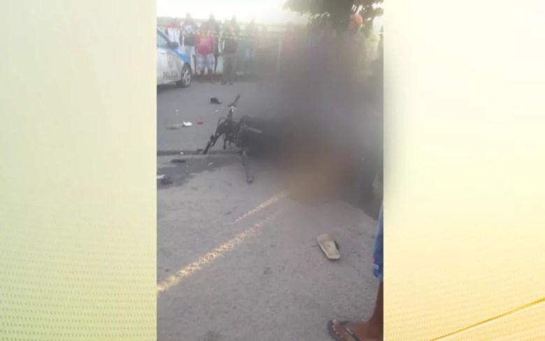 Jogador Thalles morreu após acidente envolvendo duas motos em São Gonçalo — Foto: Reprodução / redes sociais