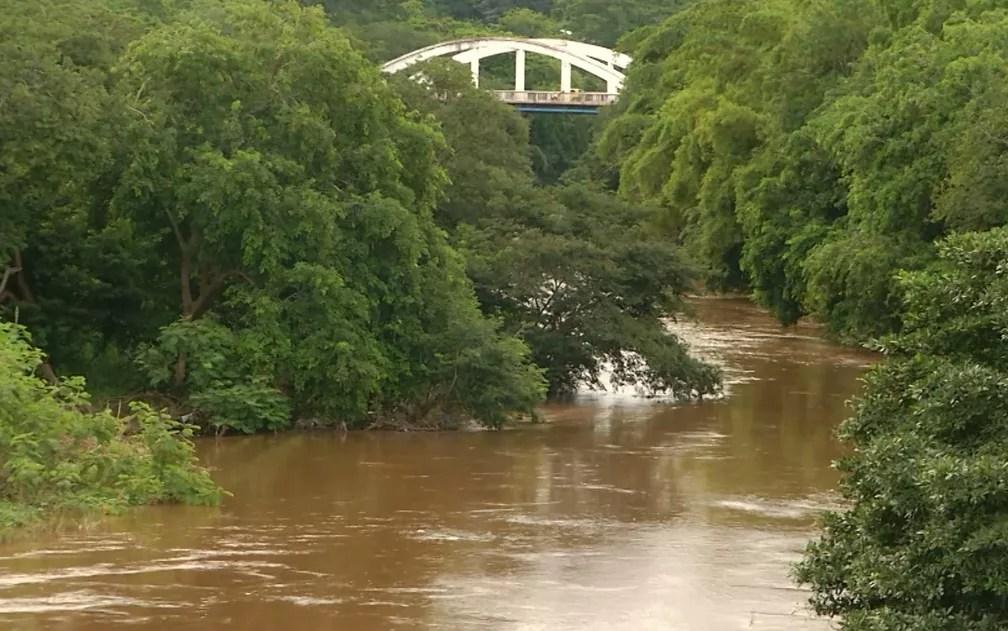 Nível dos rios aumentou após chuvas amenizar a seca no Maranhão (Foto: Reprodução/TV Mirante)