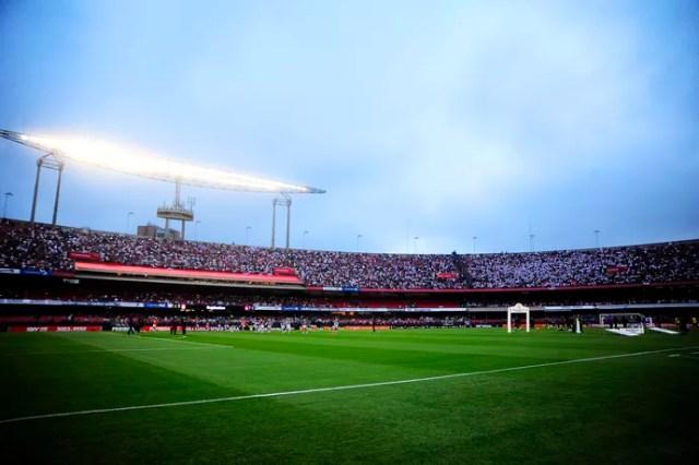 São Paulo x Corinthians Morumbi (Foto: Marcos Ribolli)