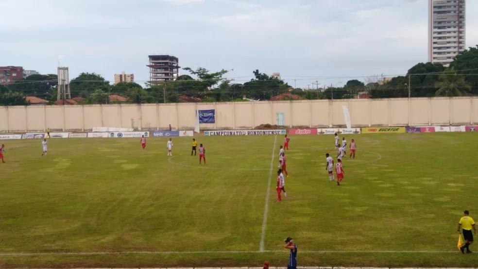 Porto Velho vence o Guajará no jogo válido pela sétima rodada — Foto: Reprodução/Rede Amazônica
