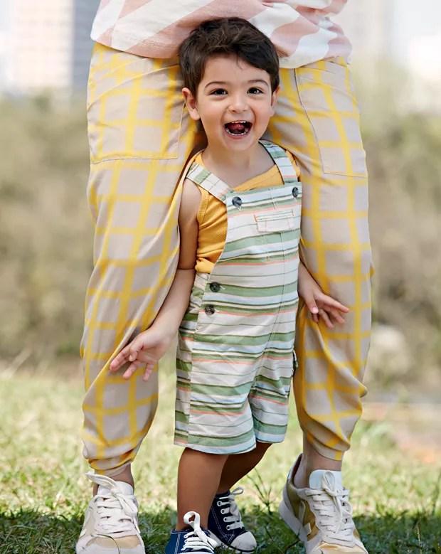 Seu filho é extrovertido e adora aparecer? (Foto: Editora Globo / Raquel Espírito Santo)