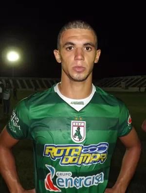 Misso, jogador do Sousa (Foto: Jorge Gadrian)