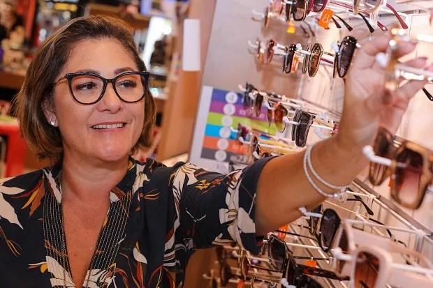 Aline Monteiro de Barros Bignardi, franqueada do Mercadão dos Óculos e Ocularium (Foto: Divulgação)