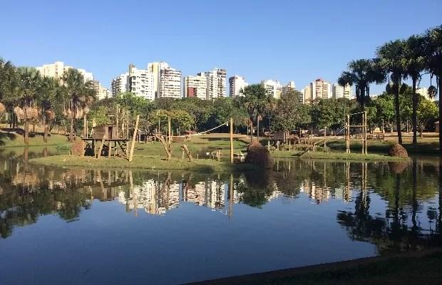 Projeto apresentado por vereador propoe o fechamento do zoológico de Goiânia, Goiás (Foto: Vitor Santana/G1)