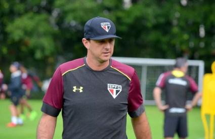 Rogério Ceni treinou o São Paulo em 2017 — Foto: Érico Leonan / saopaulofc.net