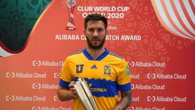 Gignac foi eleito o melhor jogador da partida entre Tigres e Ulsan, pelo Mundial de Clubes