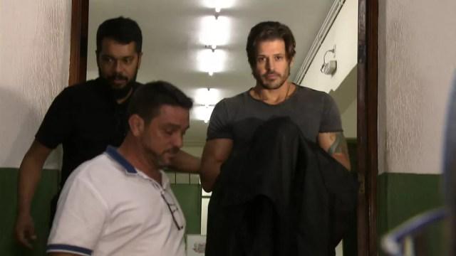 Ator Dado Dolabella é preso em SP após não pagar pensão alimentícia a um dos filhos (Foto: Reprodução/TV Globo)
