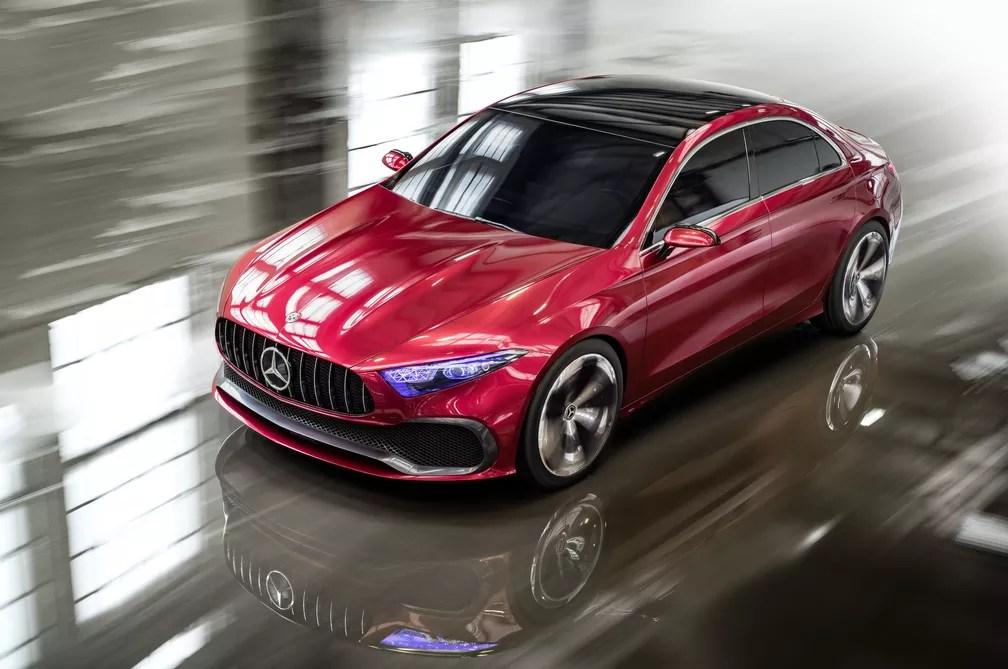 Mercedes-Benz Concept A Sedan (Foto: Divulgação)
