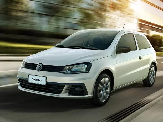 Volkswagen Gol duas portas (Foto: Divulgação)
