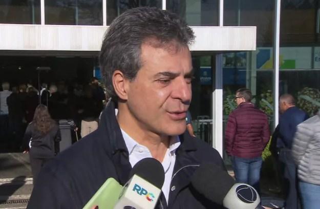 Inquérito apura se ex-governador do Paraná recebeu propina via caixa dois em projeto de duplicação da PR-323 (Foto: Reprodução/RPC)