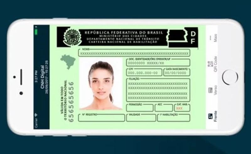 Motorista pode obter CNH Digital direto do celular sem ir ao Detran — Foto: Divulgação/Serpro