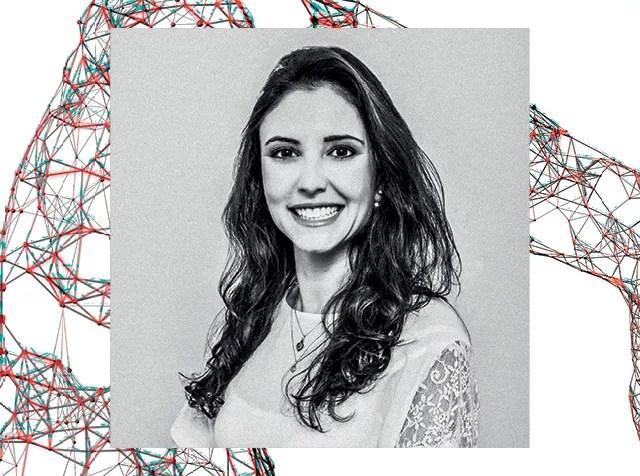 A bióloga Caroline de Farias é cofundadora da Ziel Biosciences, que desenvolveu um coletor caseiro de células uterinas  (Foto: Divulgação)