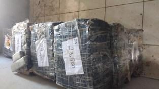 Mais de duas toneladas de maconha foram apreendidas pela polícia em Jacumã, distrito da cidade do Conde, no Litoral Sul da PB — Foto: Tenente Lucenildo/Polícia Militar