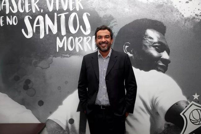Marcelo Frazão, executivo de marketing do Santos — Foto: Divulgação