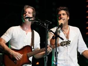 Victor e Léo em São Luís (Foto: Divulgação)