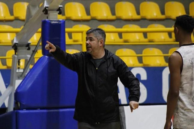 Alexandre Rios será o técnico do Mogi na LDB — Foto: Suelenn Ladessa/Mogi Basquete