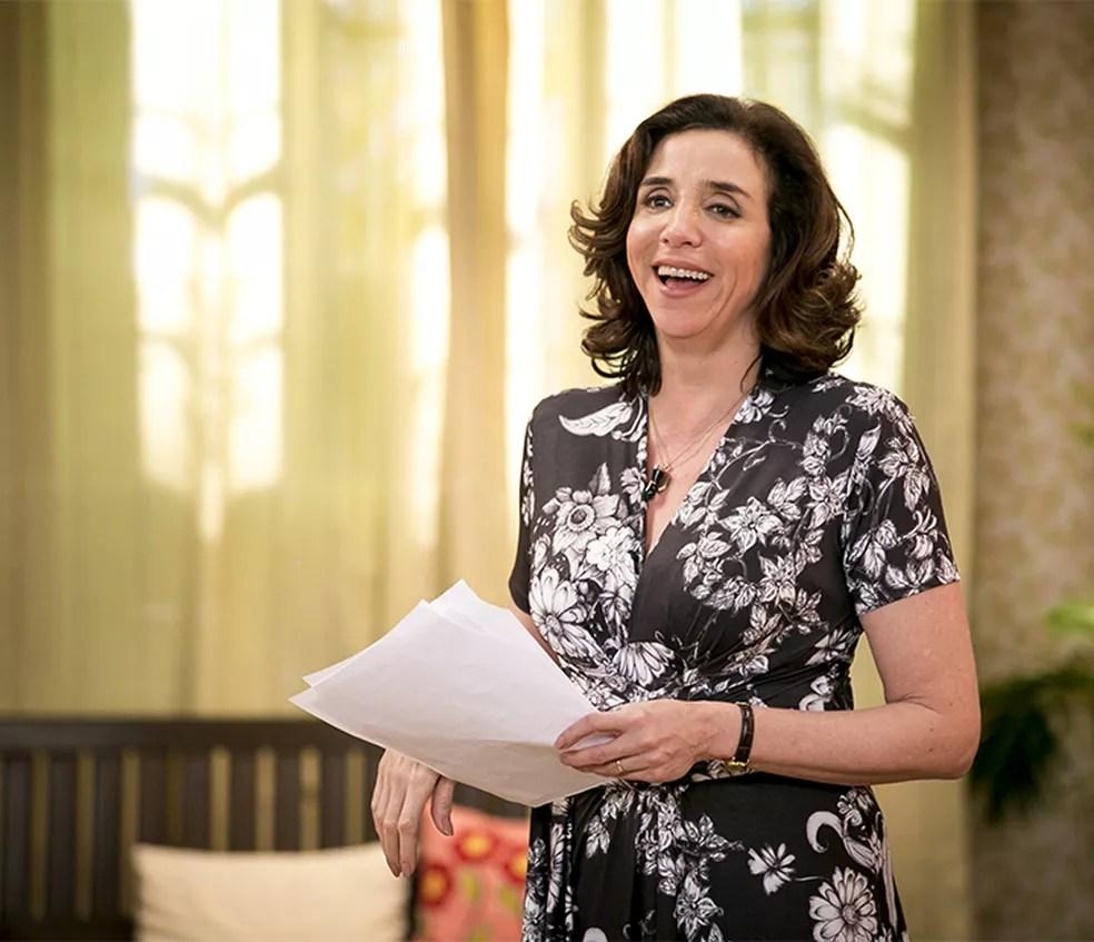 Marisa Orth é Celeste Hermínia (Foto: Isabella Pinheiro/Gshow)