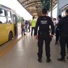 Vigilante é ferido no rosto por facão em terminal de ônibus