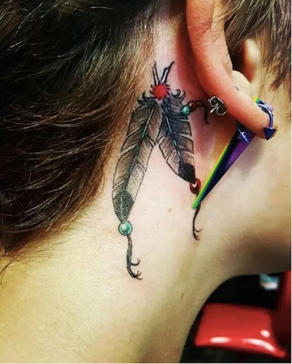 Uma das tatuagens mais recentes de Paris Jackson (Foto: Instagram)