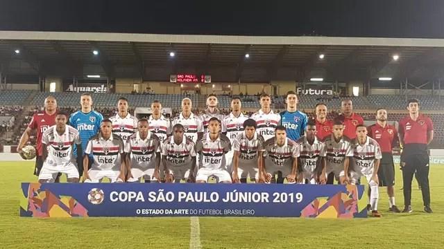 São Paulo bate o Holanda por 7 a 2 na estreia da Copinha