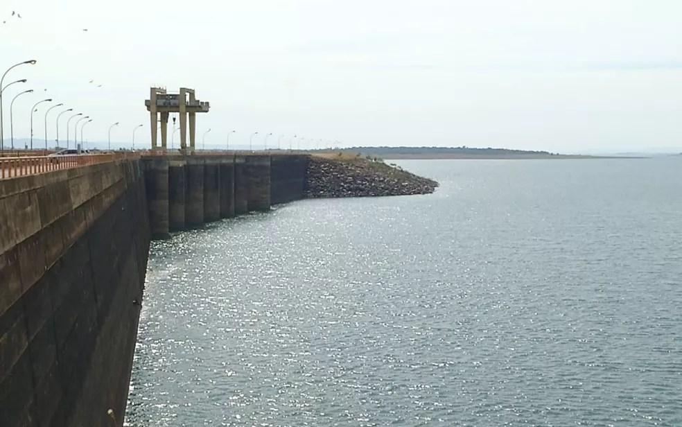 Reservatório de hidrelétrica em Goiás - imagem de arquivo — Foto: Reprodução/TV Anhanguera