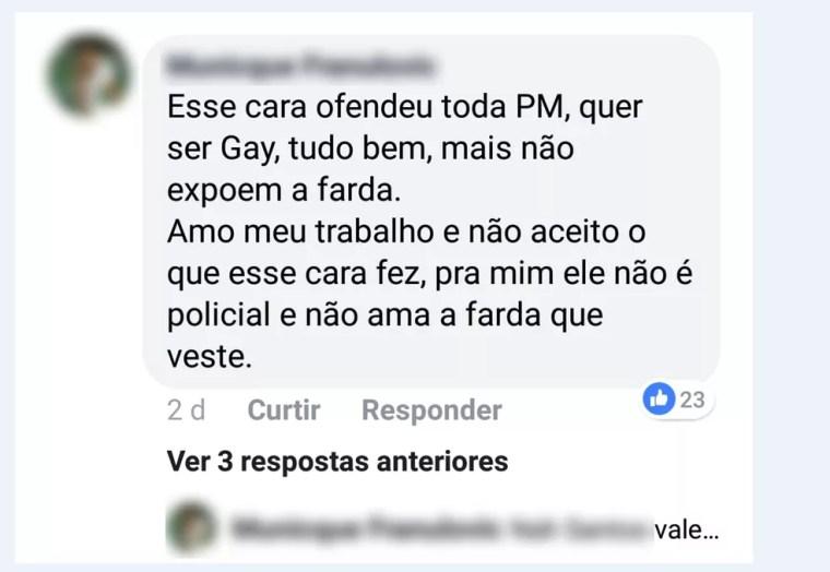 Leandro Prior começou a sofrer ofensas e ameaças em redes sociais (Foto: Arquivo Pessoal)