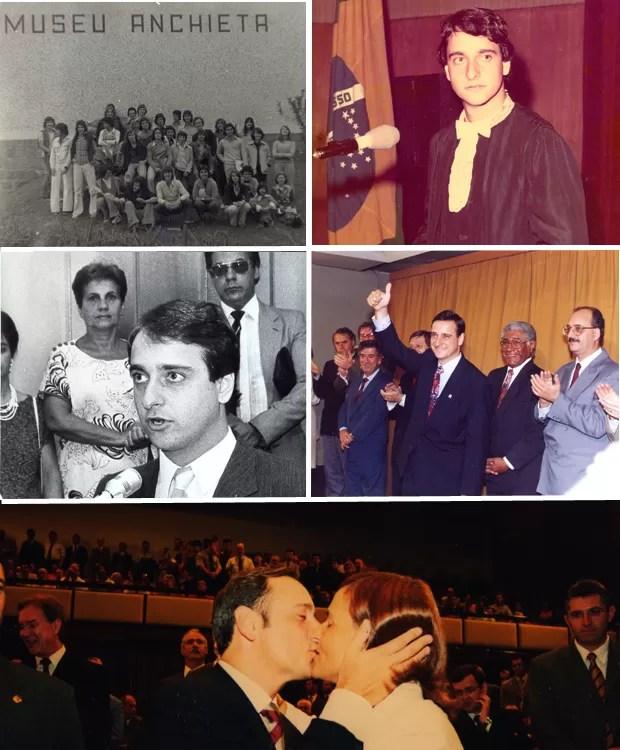 Montagem de fotos dos candidatos a governador do Rio Grande do Sul - Vieira da Cunha (Foto: Arquivo Pessoal)