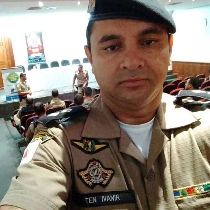 O capitão Ivanir Clementino de Brito morreu de Covid-19 no dia 14 de julho. — Foto: Reprodução / Facebook