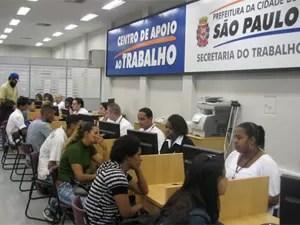 Centro de Apoio ao Trabalho de São Paulo (Foto: Divulgação)
