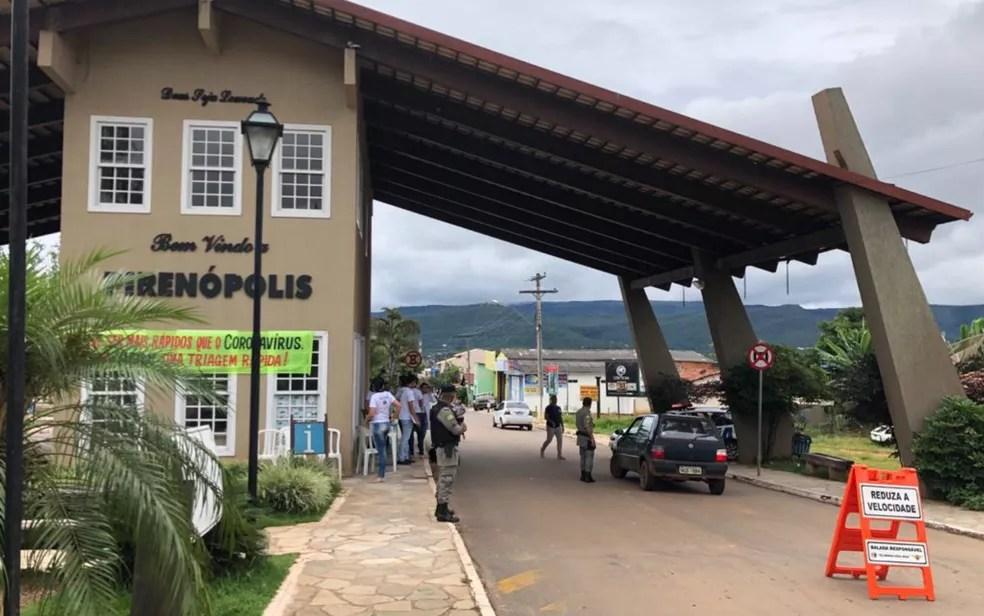 Pirenópolis  — Foto: Reprodução/TV Anhanguera