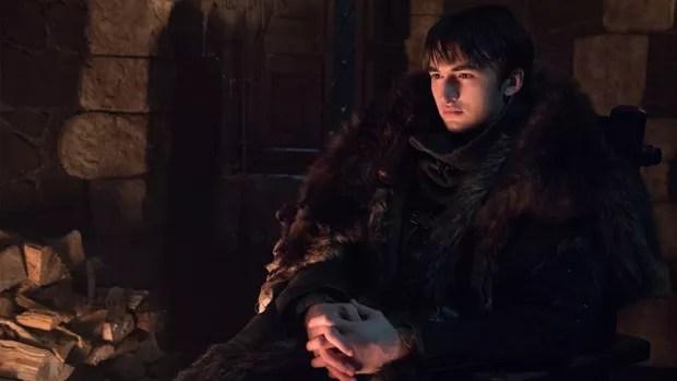 Bran Stark (Isaac Hempstead-Wright) em cena da última temporada de Game of Thrones (Foto: Dilvulgação/HBO/Helen Sloan)