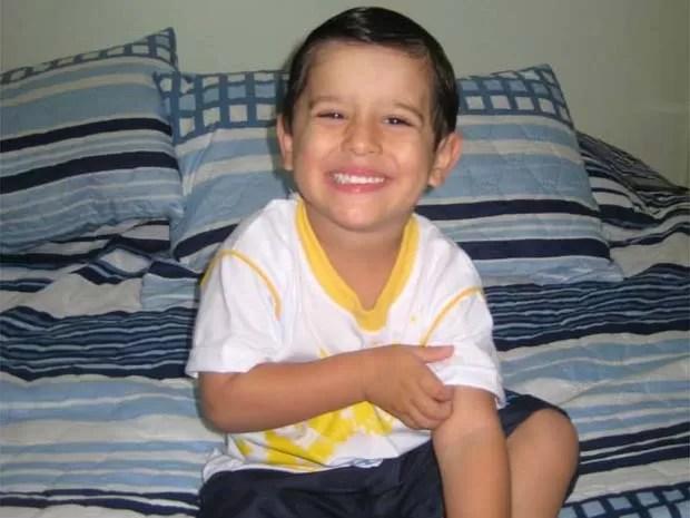 Joaquim, de 3 anos, sumiu misteriosamente de dentro da casa da mãe (Foto: Divulgação/Arquivo Pessoal)