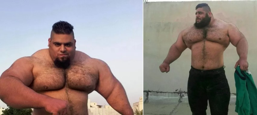 Sajad é chamado de Hércules iraniano