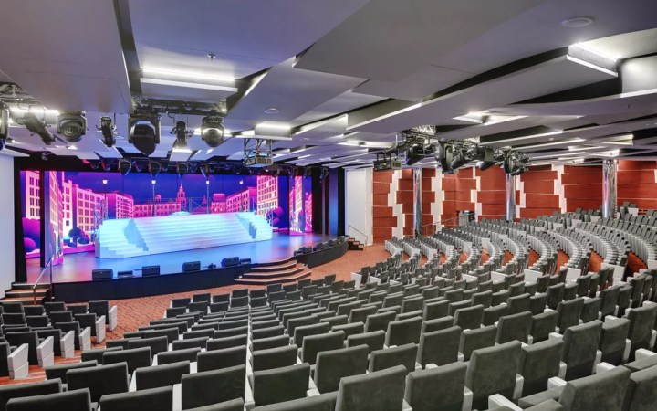 Teatro do MSC Seaview — Foto: Divulgação/MSC
