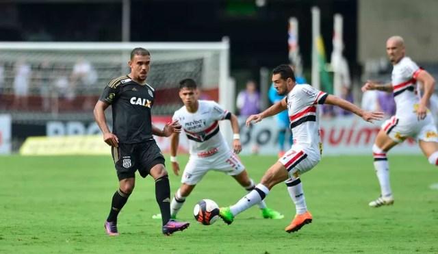 Gilberto Luiz Araújo São Paulo x Ponte Preta (Foto: Marcos Ribolli)